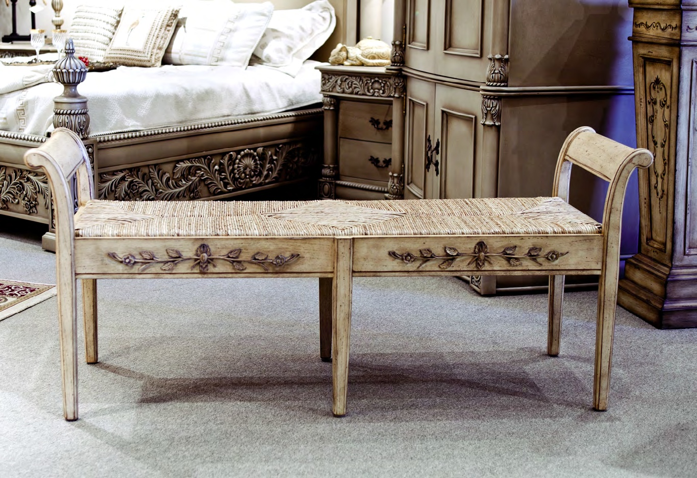 CH10698 -18th Century Neoclassic Bench