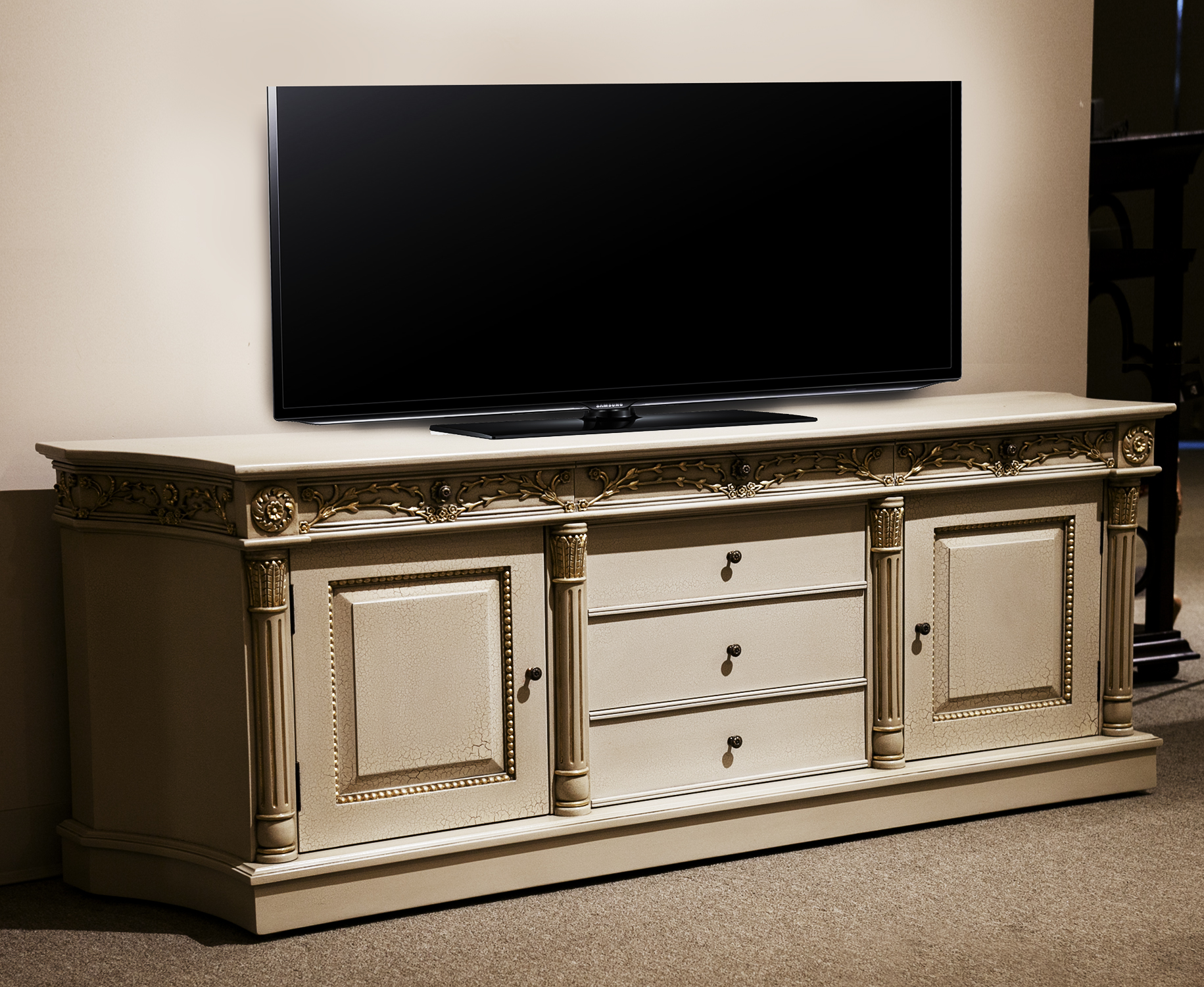 CA8020ETM - French Boulle Entertainment Console