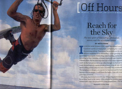 Paul Menta classic kiteboarding article (2002)