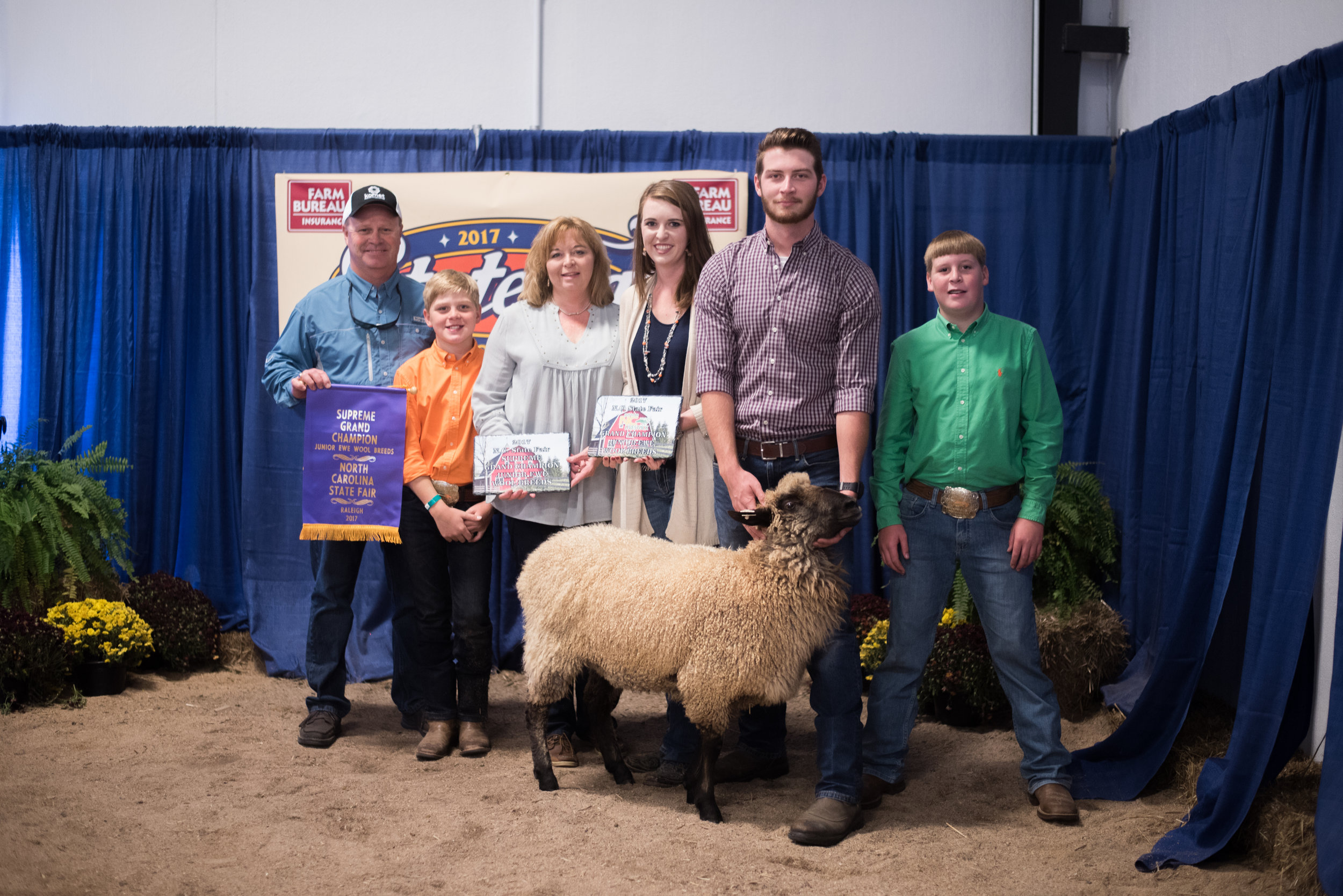 Supreme Grand Champion Jr. Wool Breed Ewe - 2017 NC State Fair