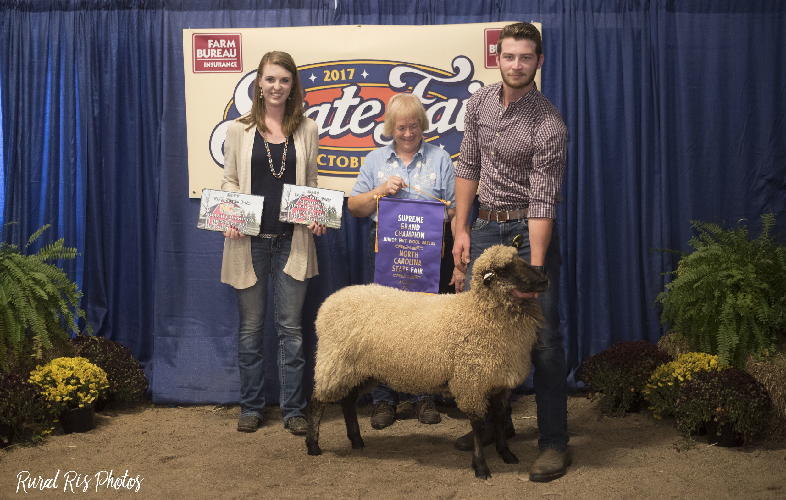 Grand Champion Fleece - 2017 NC State Fair