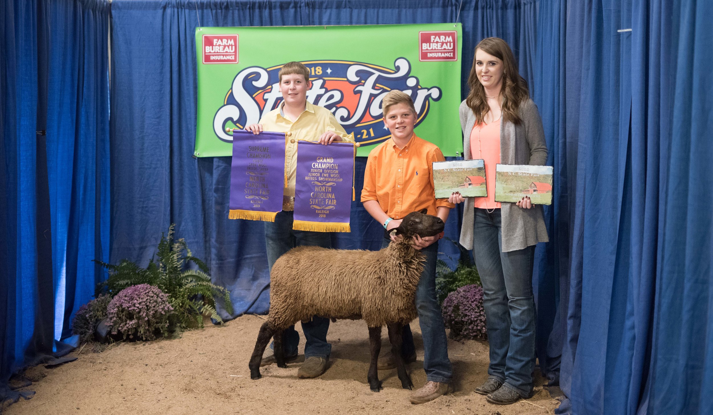Grand Champion Fleece - 2018 NC State Fair