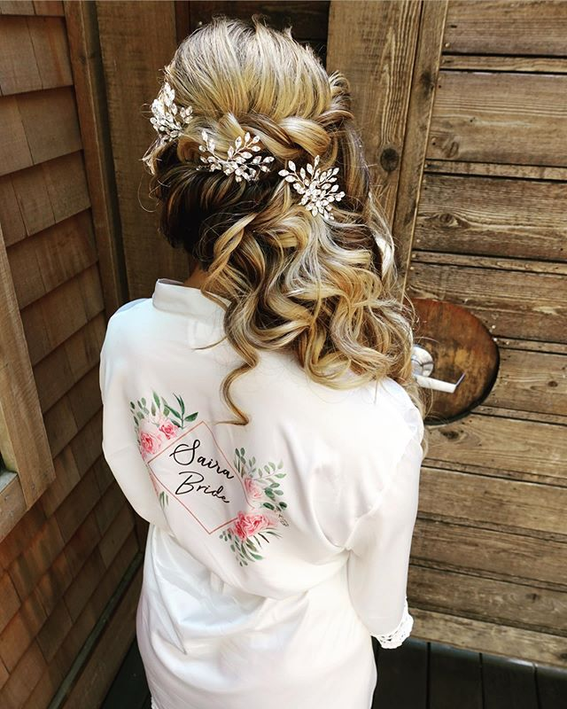 Bridal hair on our bride ᔕᗩiᖇᗩ yesterday in Calistoga!  We didn't do a trial and wanted to take my time with her!  She already had a ton of gorgeous hair and we also added in her @luxyhair extensions!  Hair products used are all @kenraprofessional!♥️💍Her whole bridal party was super fun and sweet and all from the east coast 😍Can I get an amen for destination weddings!?🙌🏽🙏🏽Keep swiping to see this updo in progress♥️ . Next stop: Yoᔕeᗰite! . Hair by Tay C #muahtaycercone