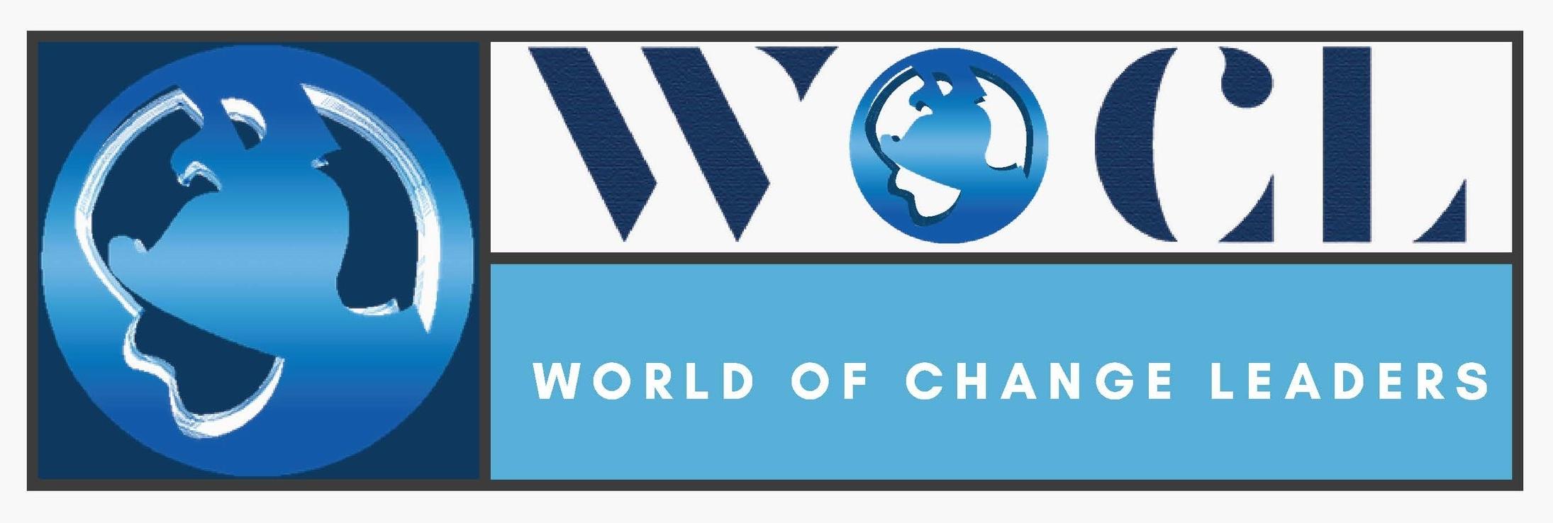 world of change leaders logo