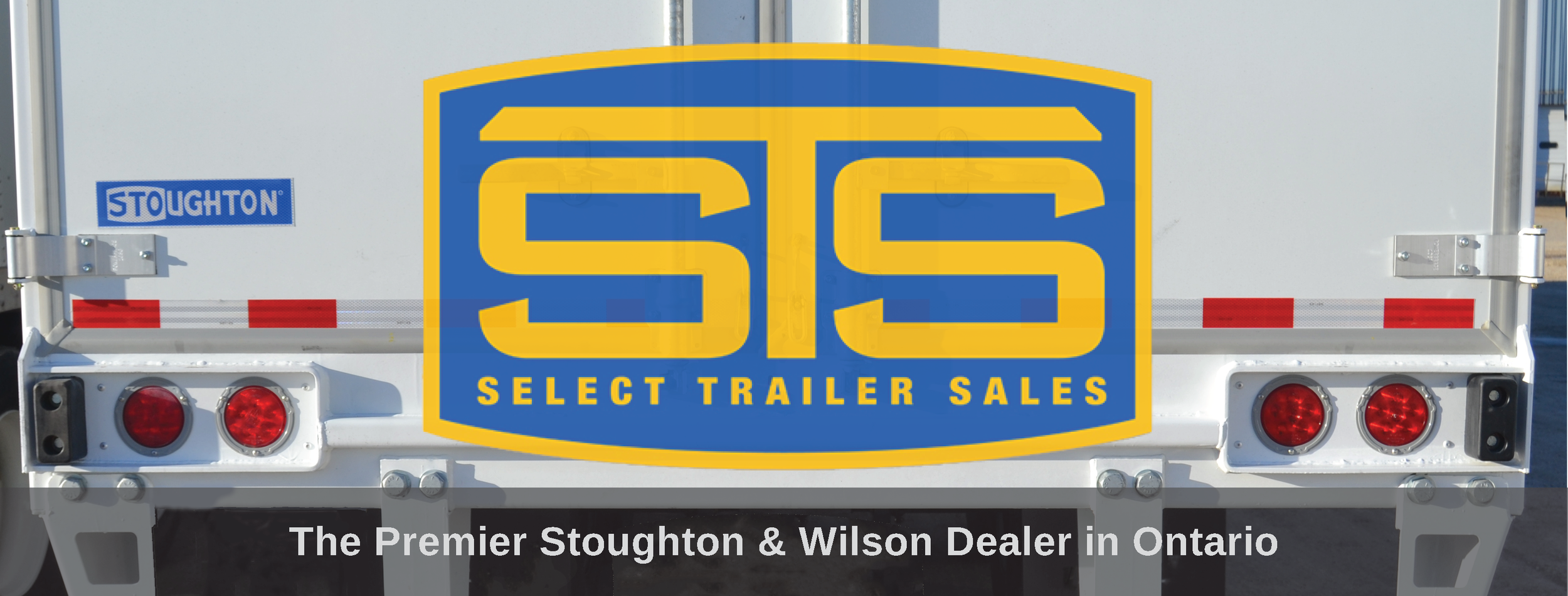 Select Trailer Sales Ontario Canada logo on Stoughton Trailer