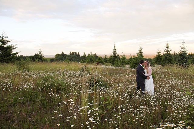 Heather and Eric's wedding day was perfect! Congratulations you two! 🎉👰🏼🤵🏻💍 Venue: Magness Tree Farm | Planner: @daniellenicholepdx | Videographer: @caitiepolandfilms | Floral: @trappdesigns | Rentals: @littleredwagonrentals | Dress: @davidsbridal | Tux: @theblacktux