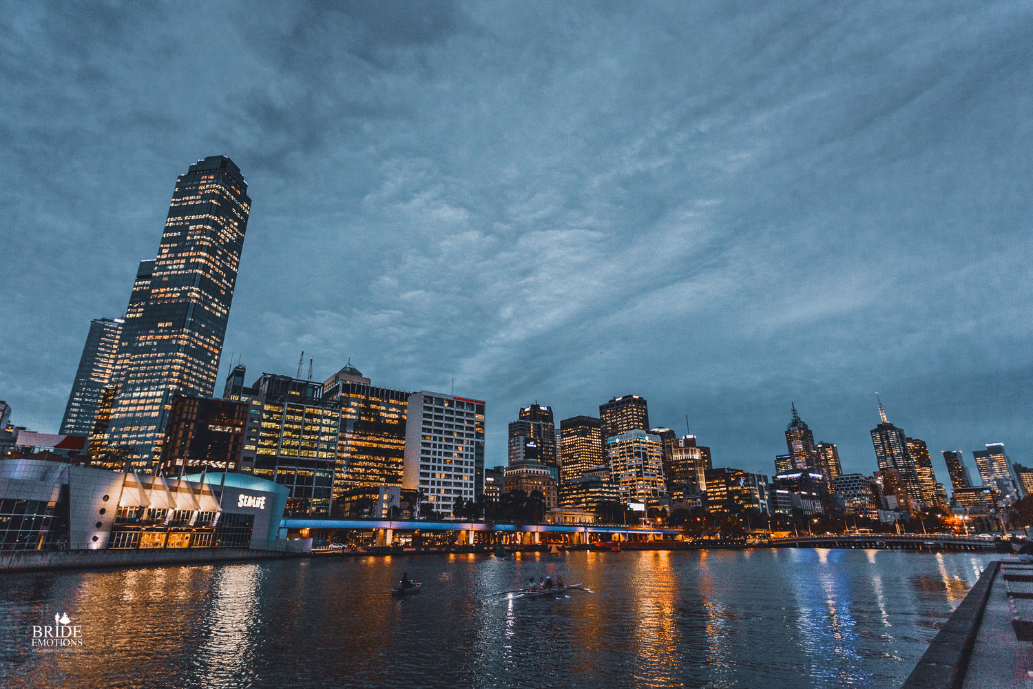 View from Yarra River Promenade