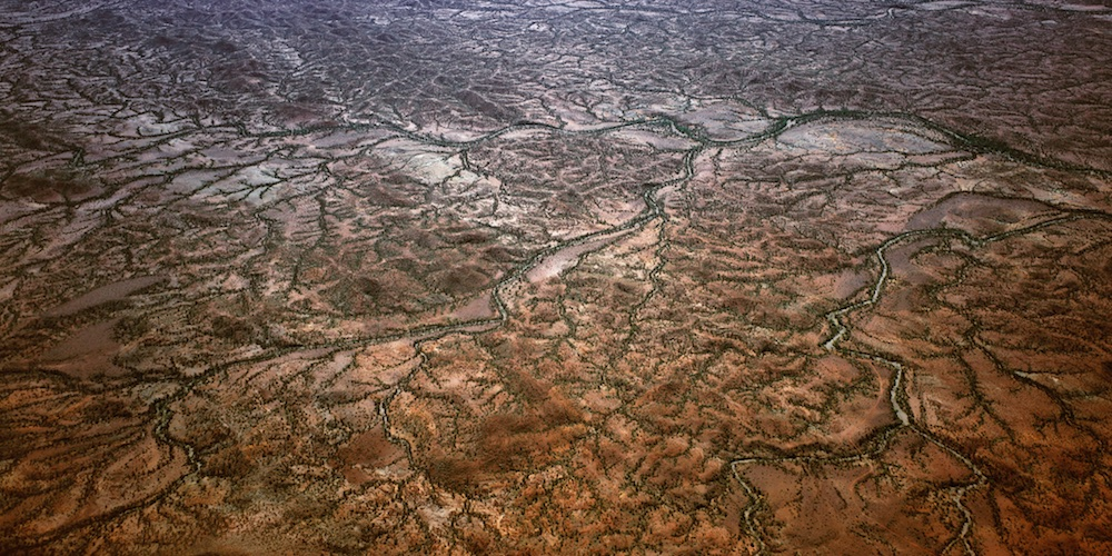 Tributaries, Gascoyne area, Western Australia, 2003.