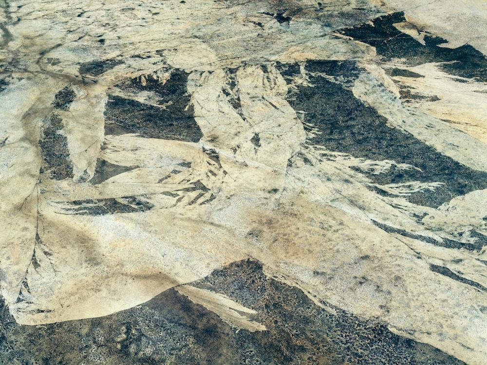 Bushfire pattern, Western Australia, 2004.