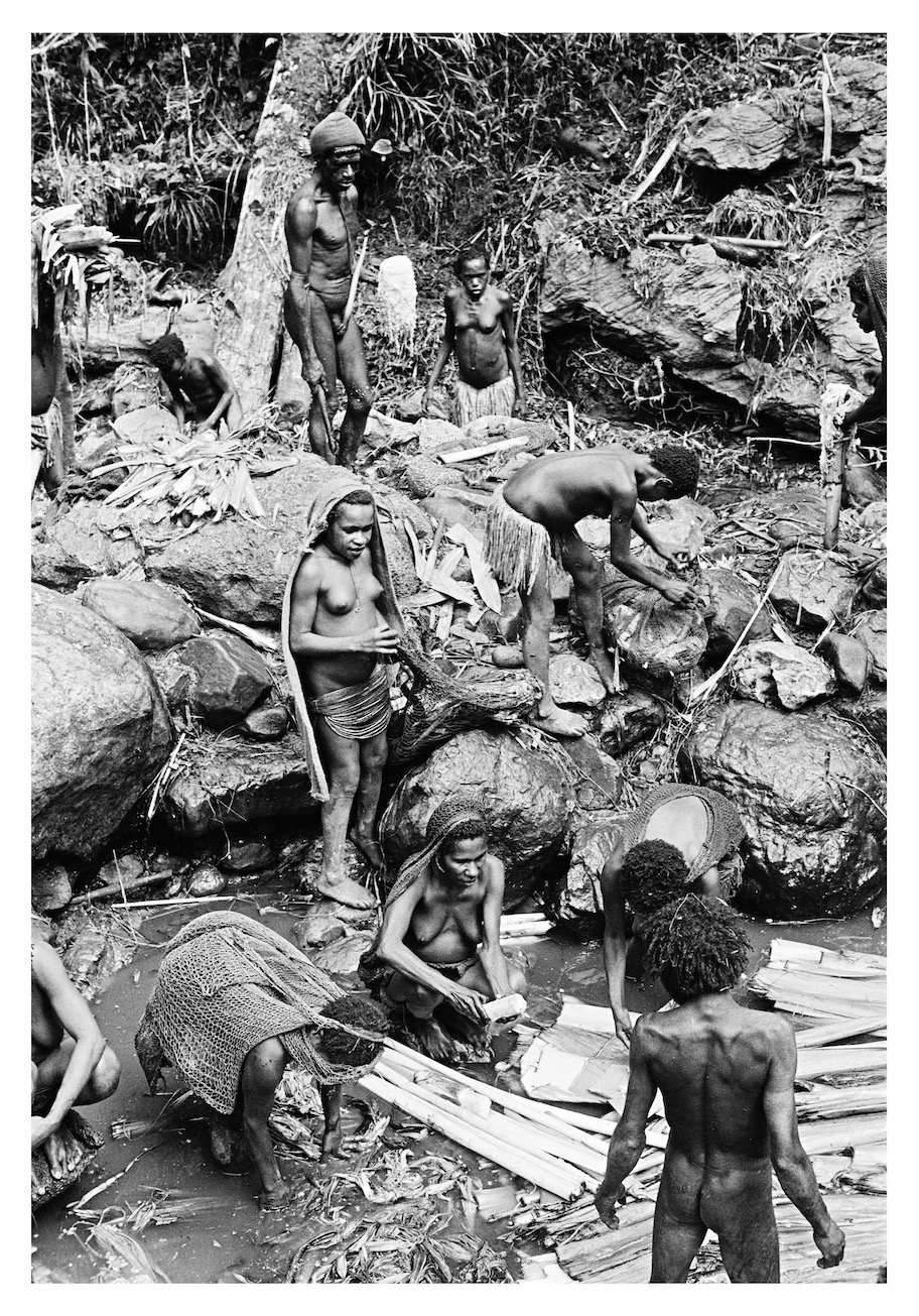 Making Salt, West Irian Jaya, Indonesia, 1971