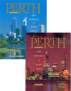 Perth, First Impressions - Photography Richard Woldendorp. Churchill Press, 1993, reprinted 1994, 1995, 1998