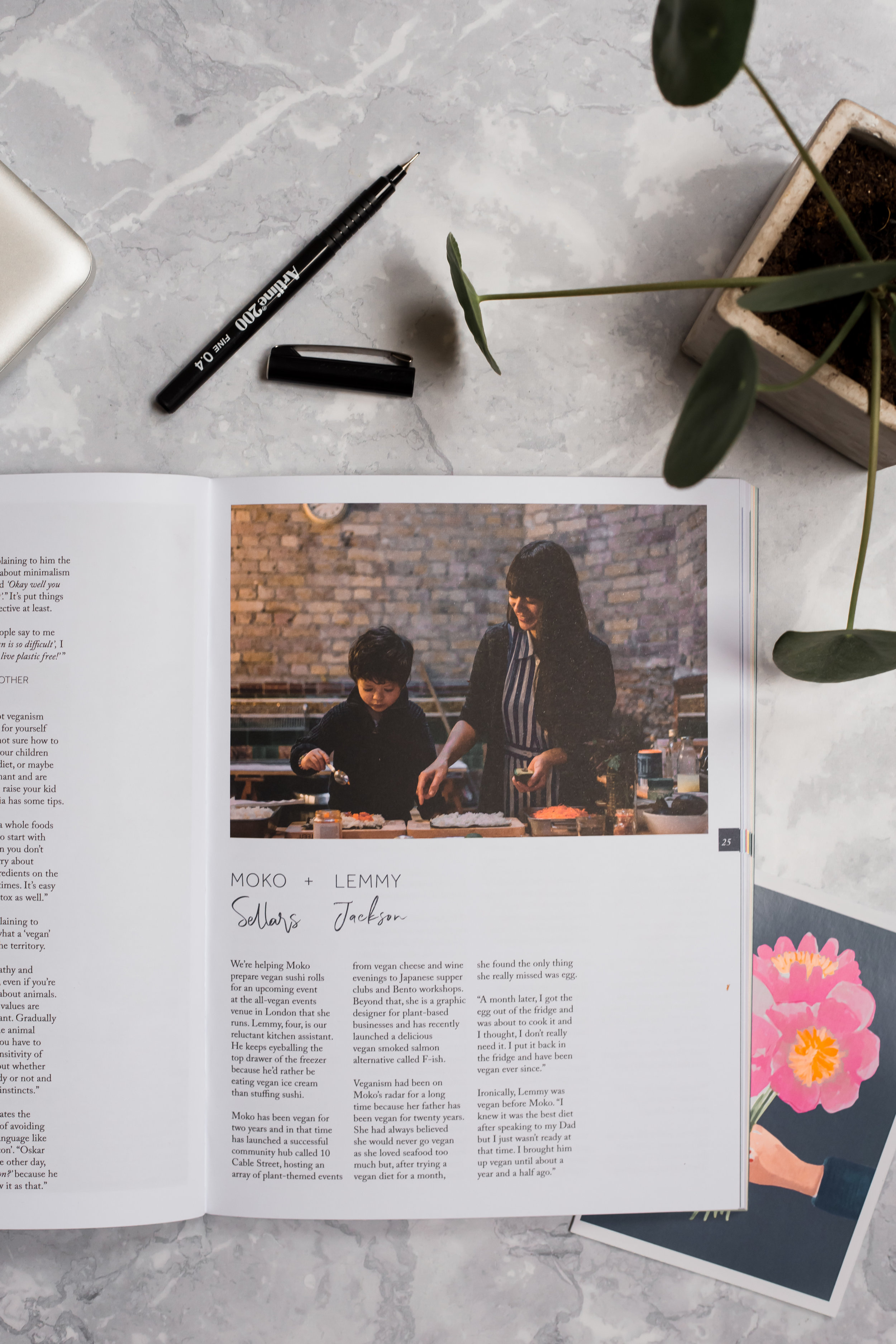 Inside Issue 4 (photography by   Helena Rose Murphy  )
