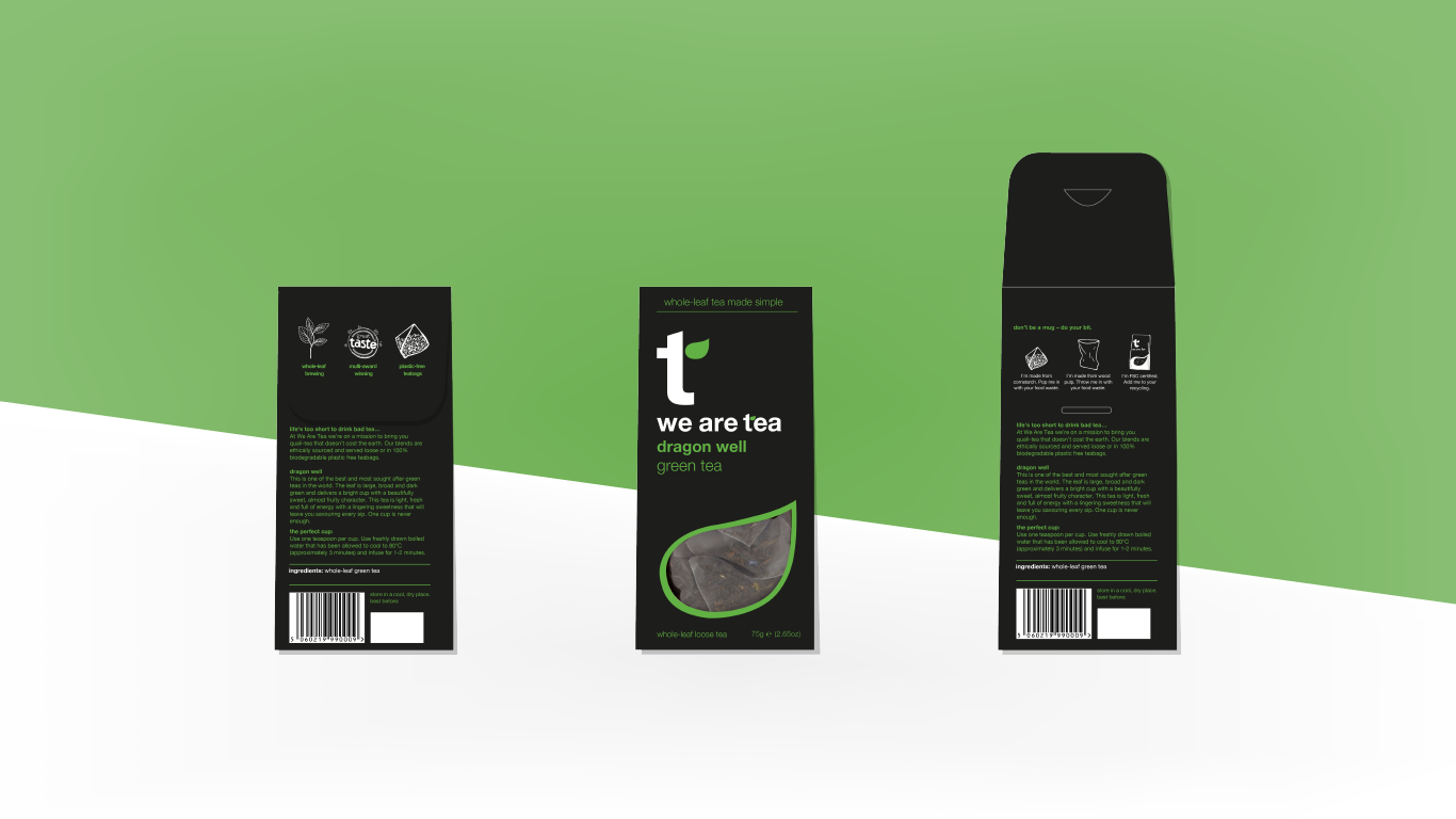 digital packaging concept