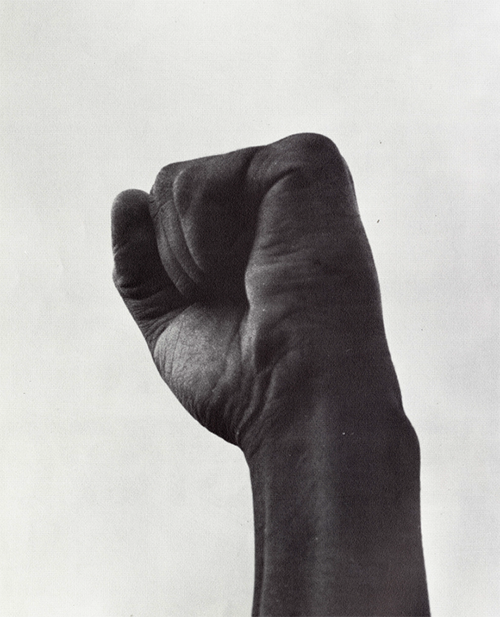Photo from BLACK 70, an African-American Stanford yearbook edited by Joyce King in 1970.