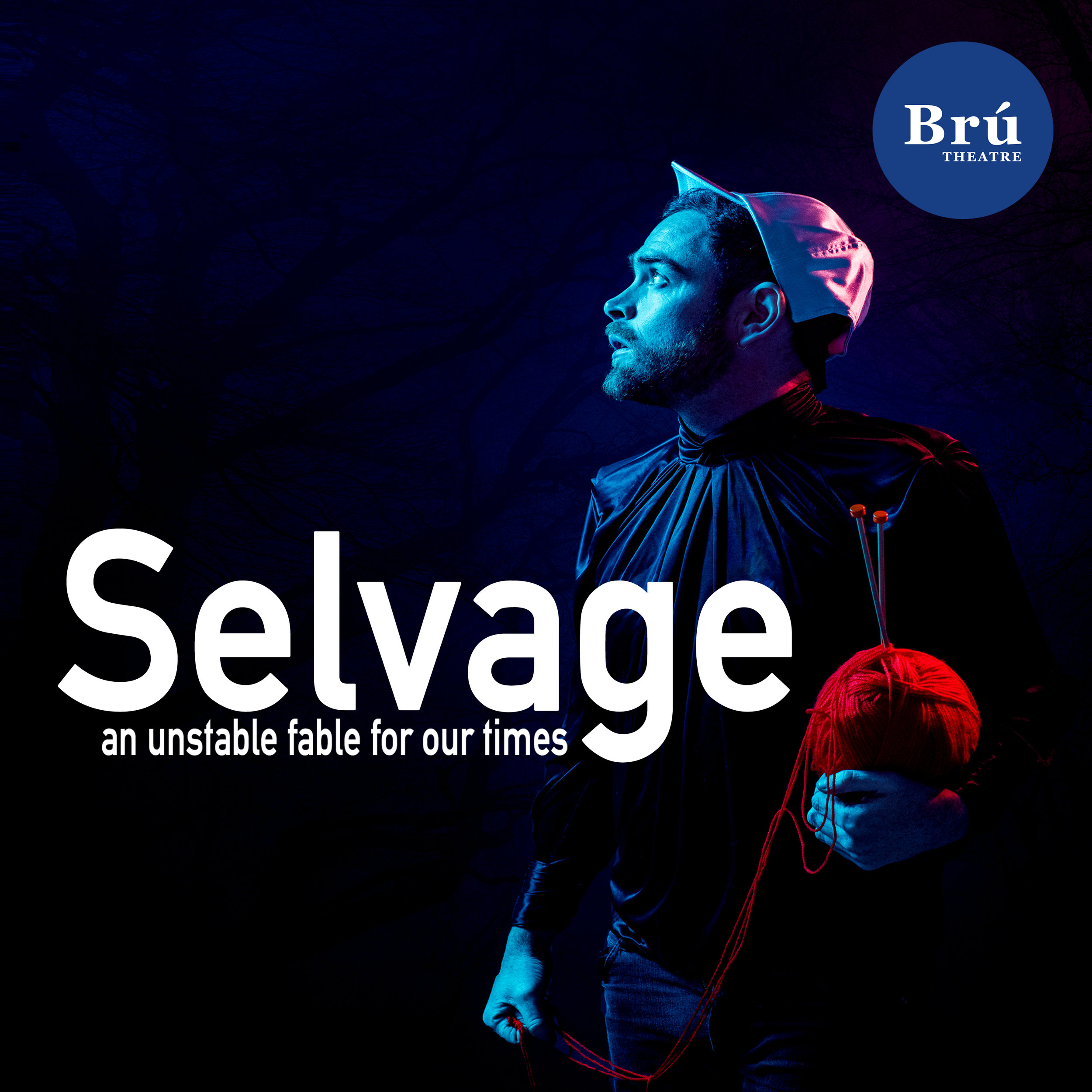 Thanks to everyone who made it out. - We are delighted with the responses and ovations at our Galway run for our newest play, Selvage. Thanks to the Arts Council and Galway City and County Councils. Brú Theatre create shows in the west of Ireland, making mask theatre, new writing and site specific theatre. Thanks for everyone who came to see!