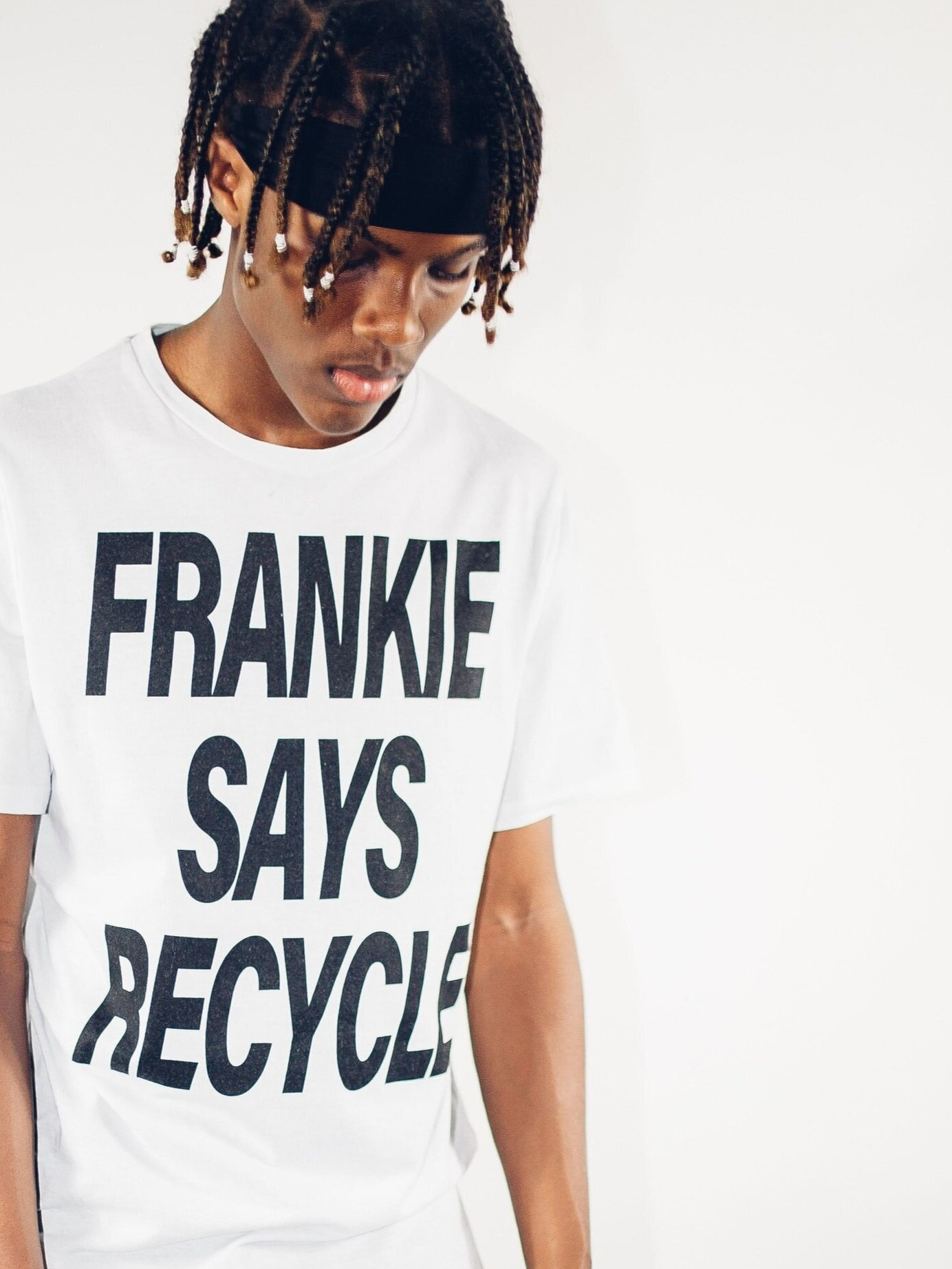 FRANKIE SAYS TSHIRT - MENS WHITE. from TOBEFRANK