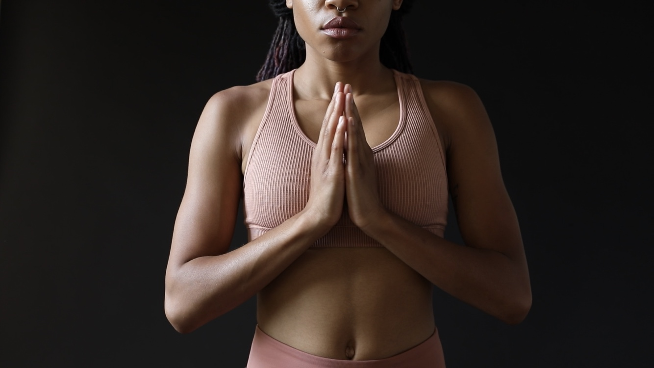 Come shed your layers on the mat. - Join me for a vinyasa style yoga class.