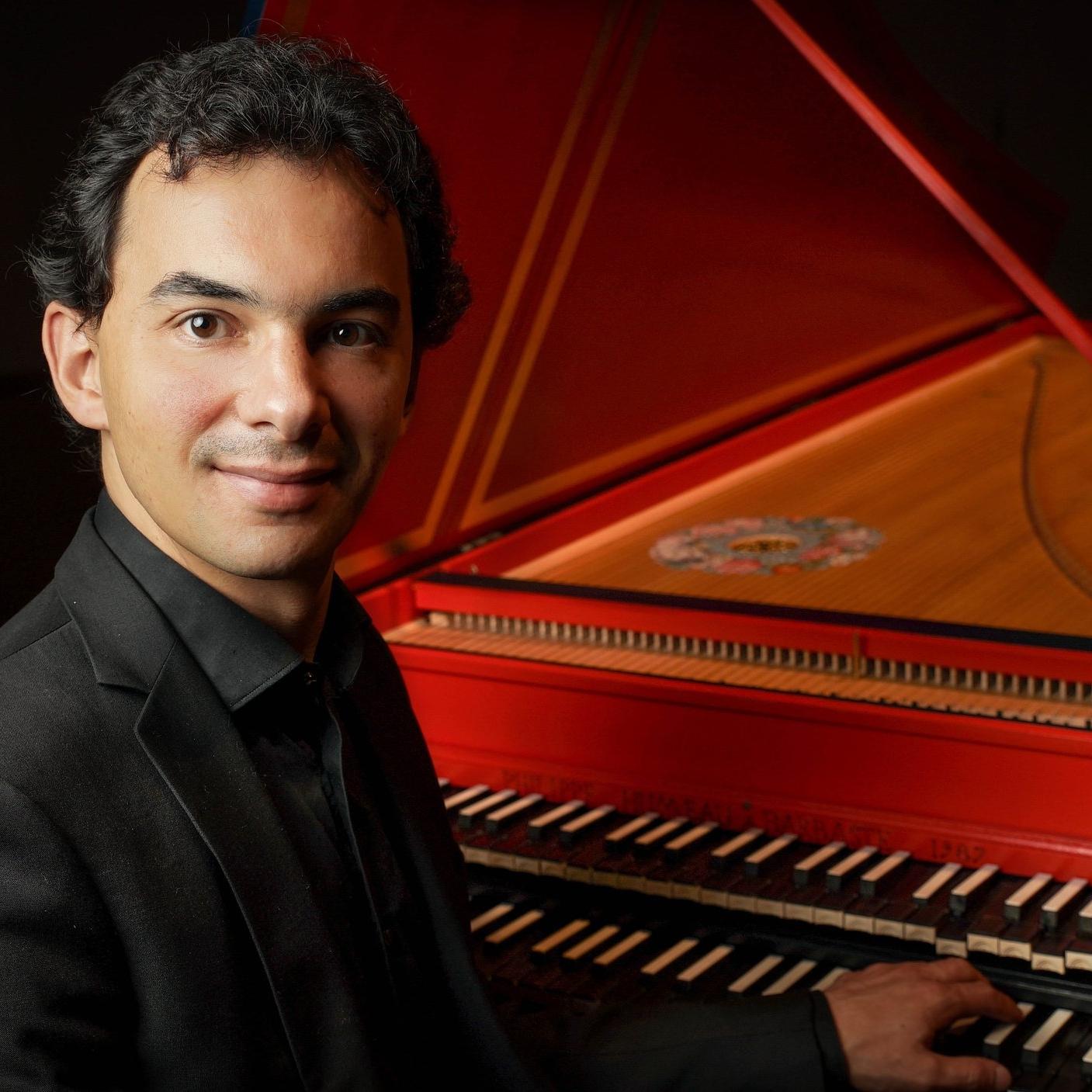 François Guerrier - Harpsichord | 大鍵琴