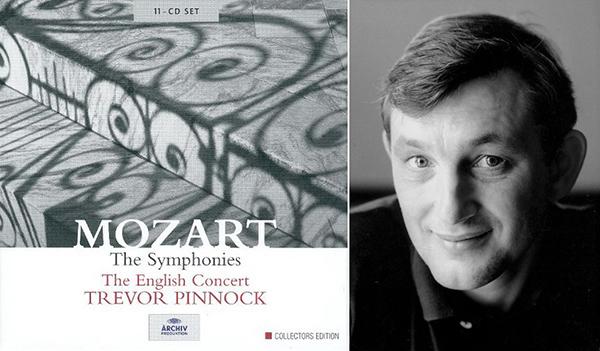 皮諾克與他錄製的莫扎特交響曲