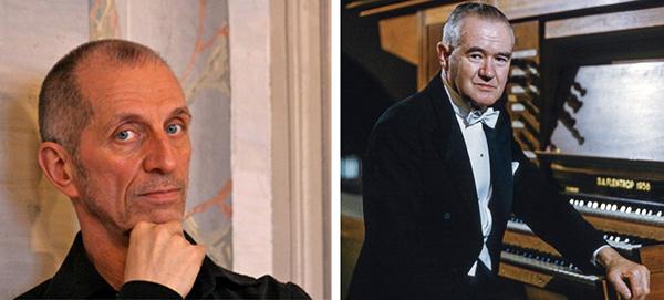 左圖: Michel Kiener;右圖: Edward Power Biggs