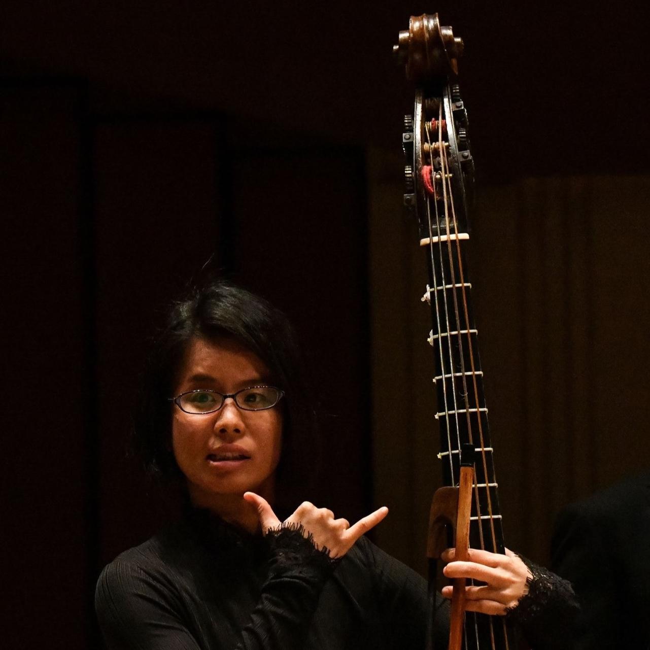 Shuko Sugama 菅間周子 - VIOLONE | 巴洛克低音提琴