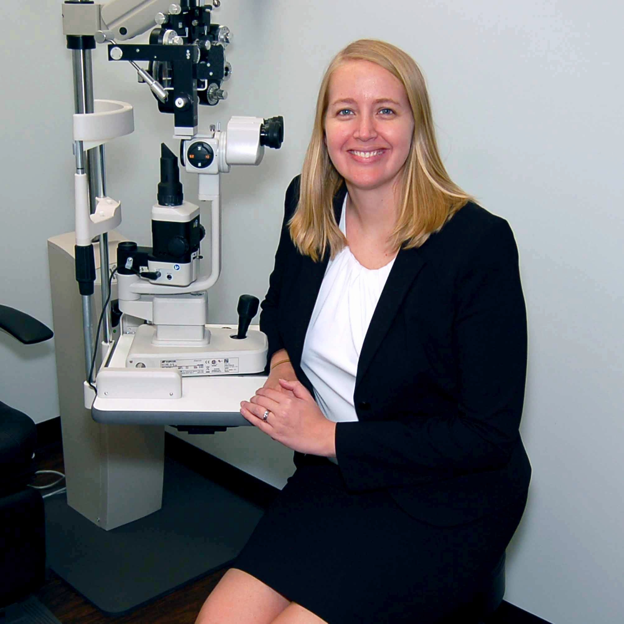 Dr. Johni Curts specializes in eye care for your whole family.