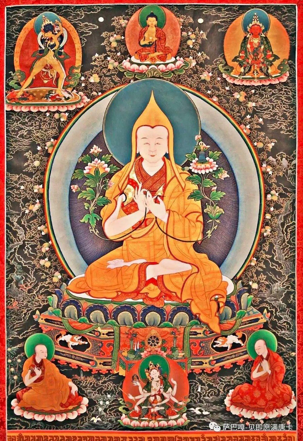 Omniscient Buton Rinchen Drub — Shalu Monastery