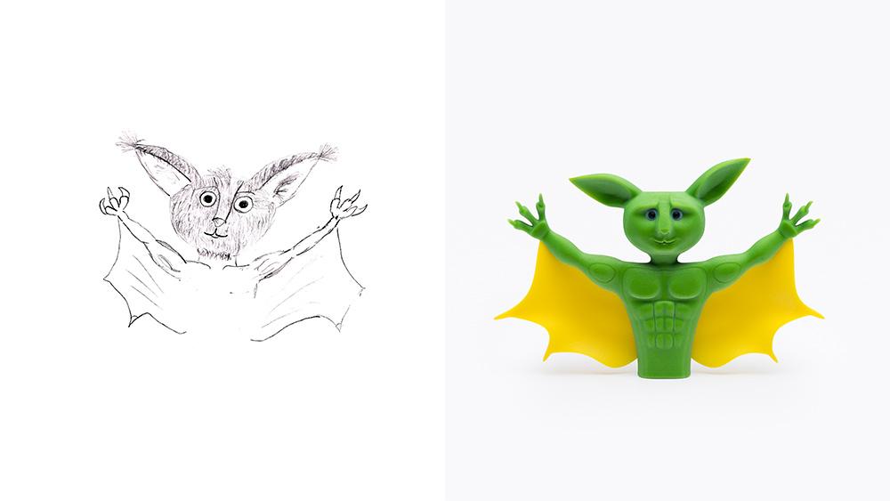 Drawing: David, age 14 | Design: TAMOOZ