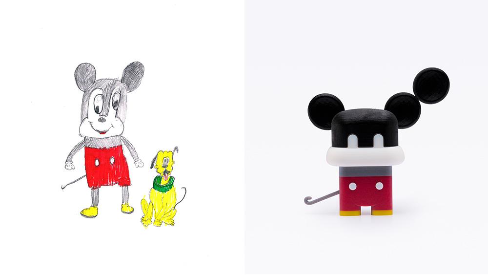 Drawing: Eitan, age 7 | Design: Kerem Kaminski & Tom Gonen