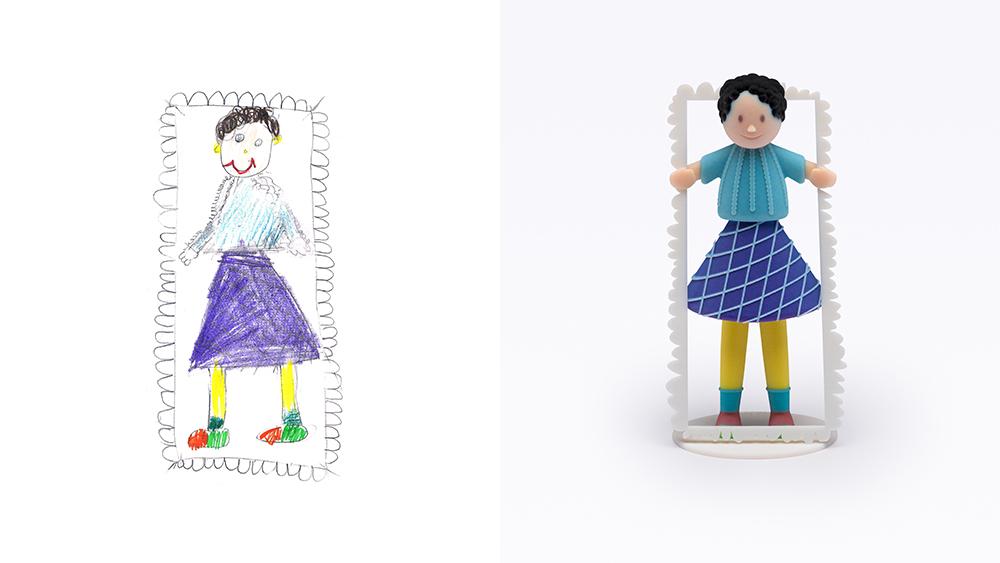 Drawing: Feygi, age 11 | Design: Peleg Design