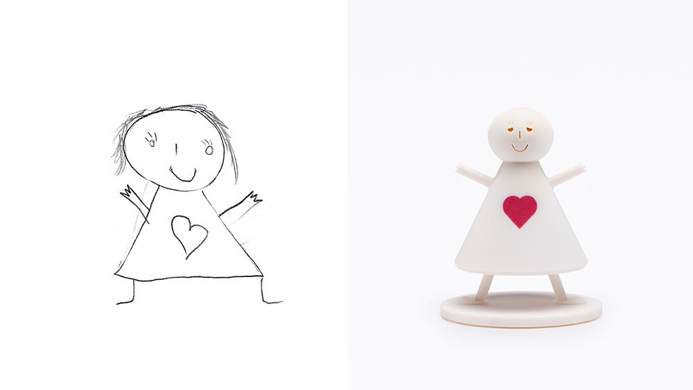 Drawing: Tansim, age 8 | Design: Reddish