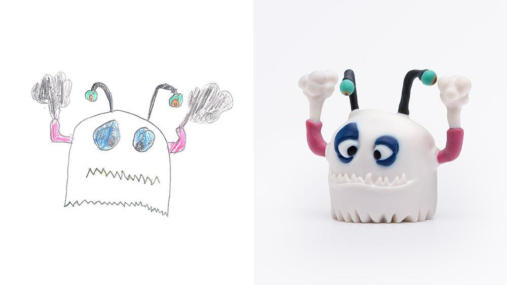 Drawing: Karmi, age 9 | Design: Yahalomis