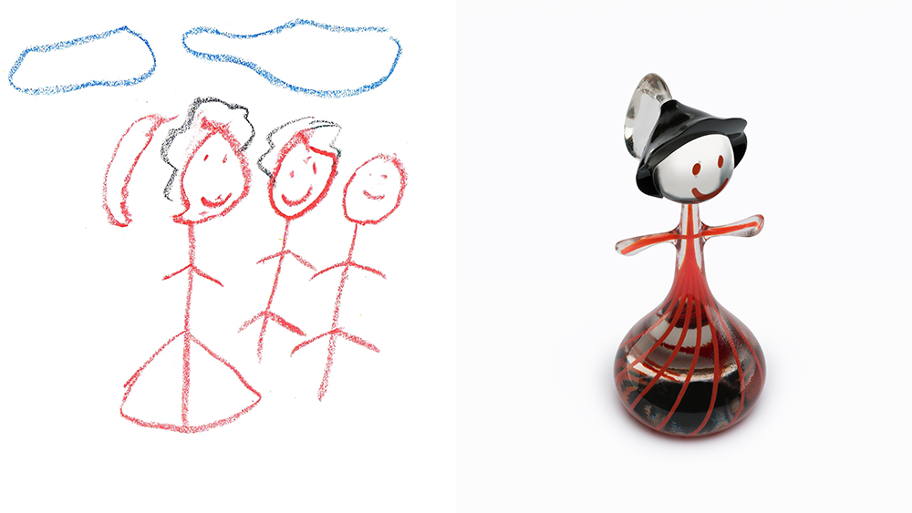 Drawing: Iad, age 6 | Design: Dor Carmon