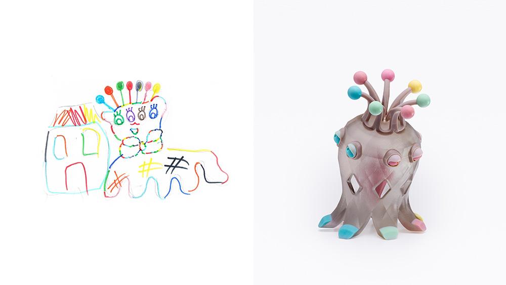 Drawing: Hanni, age 11 | Design: Ziki Friman