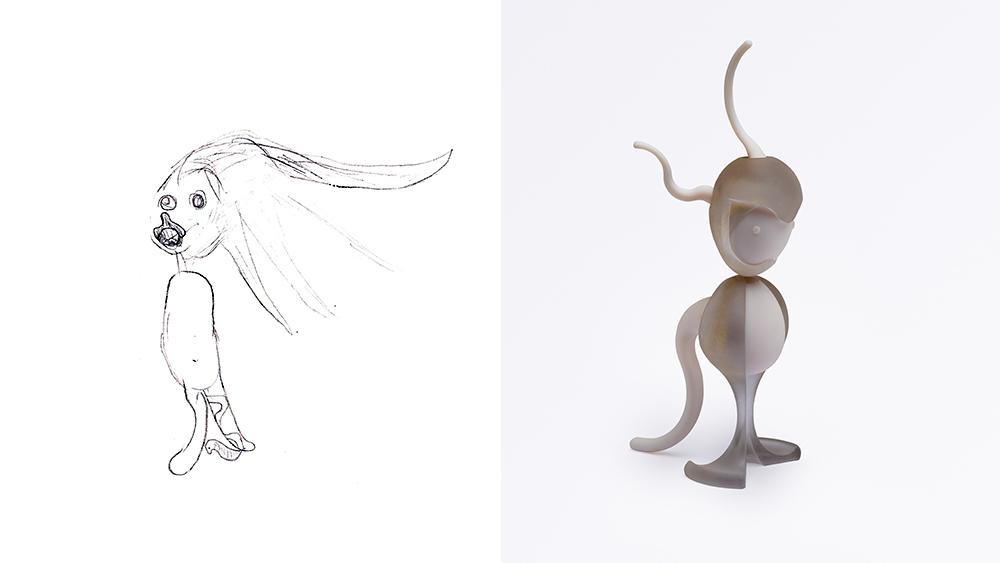 Drawing: Yonathan, age 7 | Design: Maya Shafir Alony