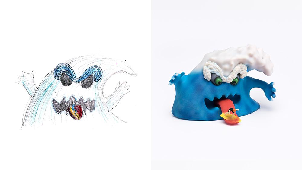 Drawing: Linor, age 14 | Design: Librus