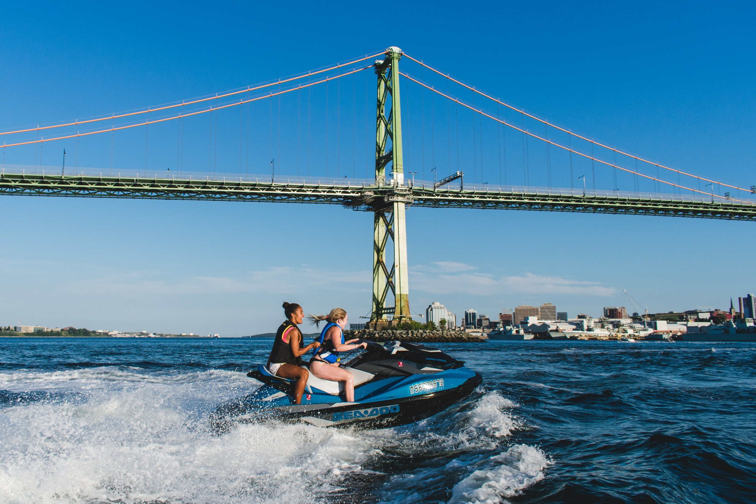 SEA-DOO RENTALS - Rent a Sea-Doo, and take your own scenic tour of Georges Island, McNabs Island, the Halifax Waterfront and the Bedford Basin, or just zip through the waves. It's up to you! The harbour is YOURS!