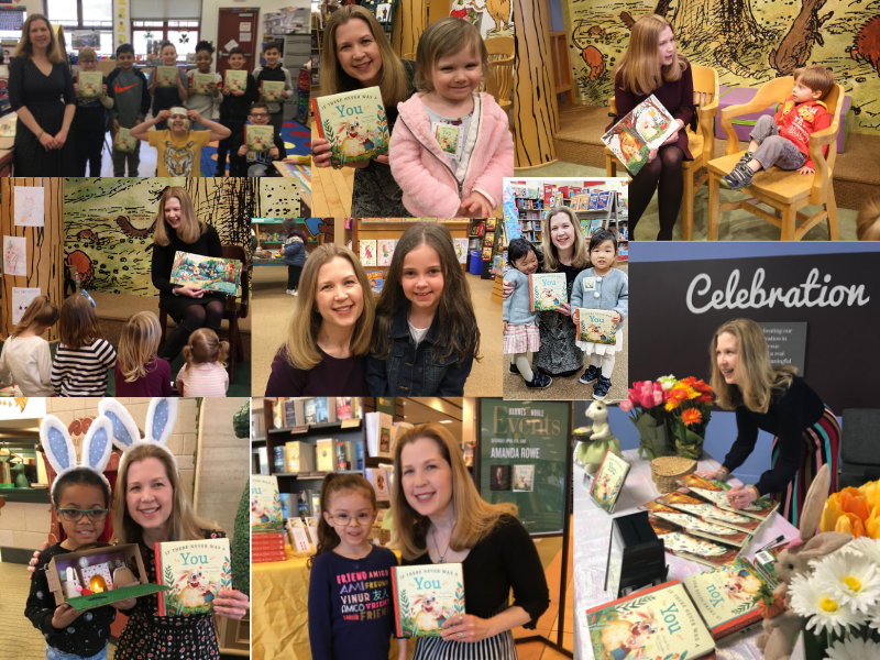 Some of my favorite moments from the book tour so far. More to come; I can't wait!