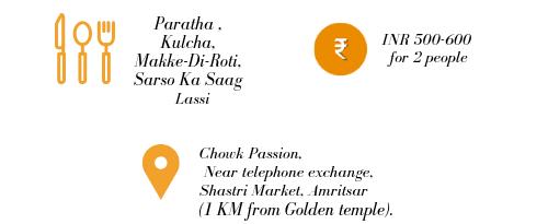 address and pricing for kesar ka dhaba in Amritsar