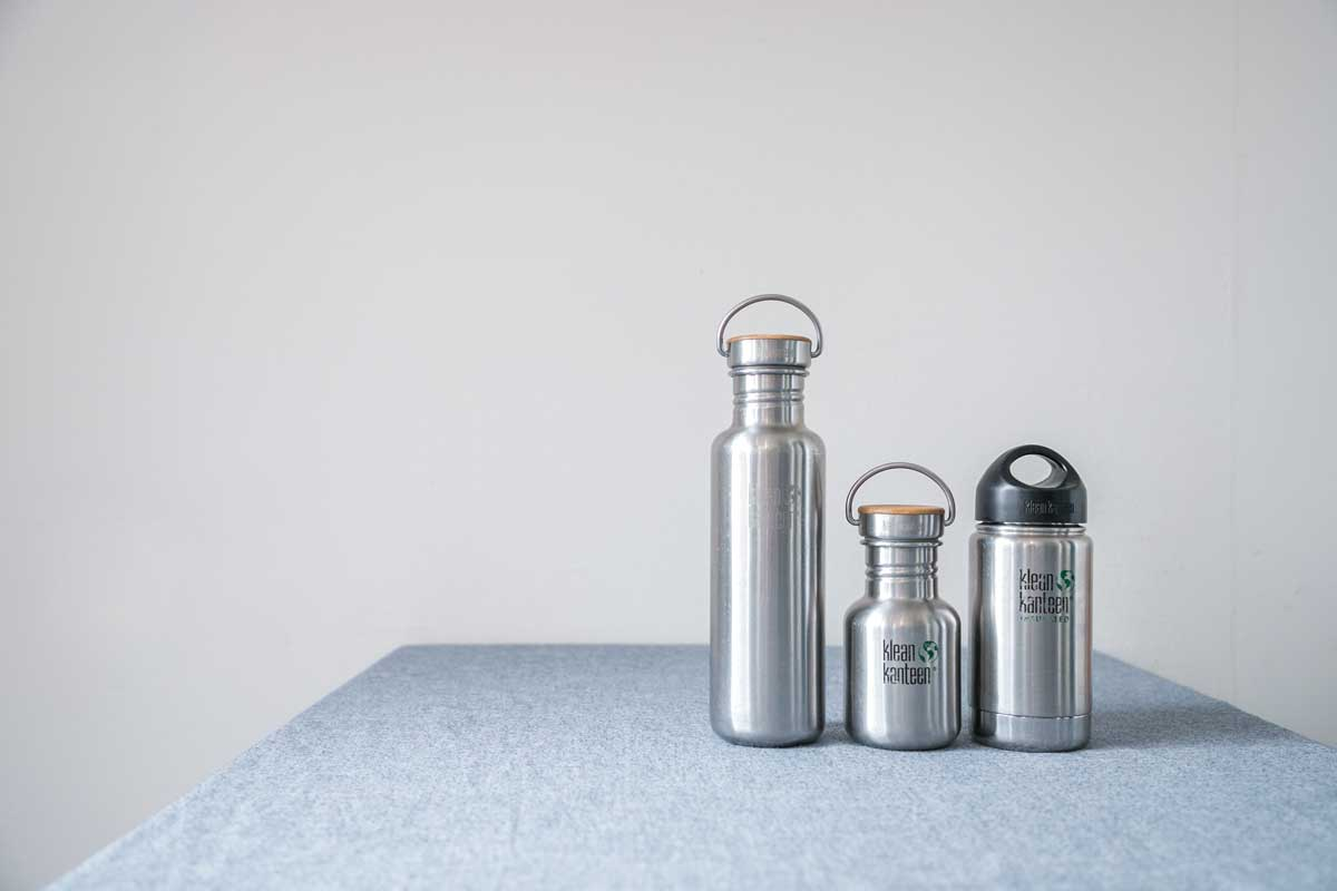 Steel reusable containers for take away drinks