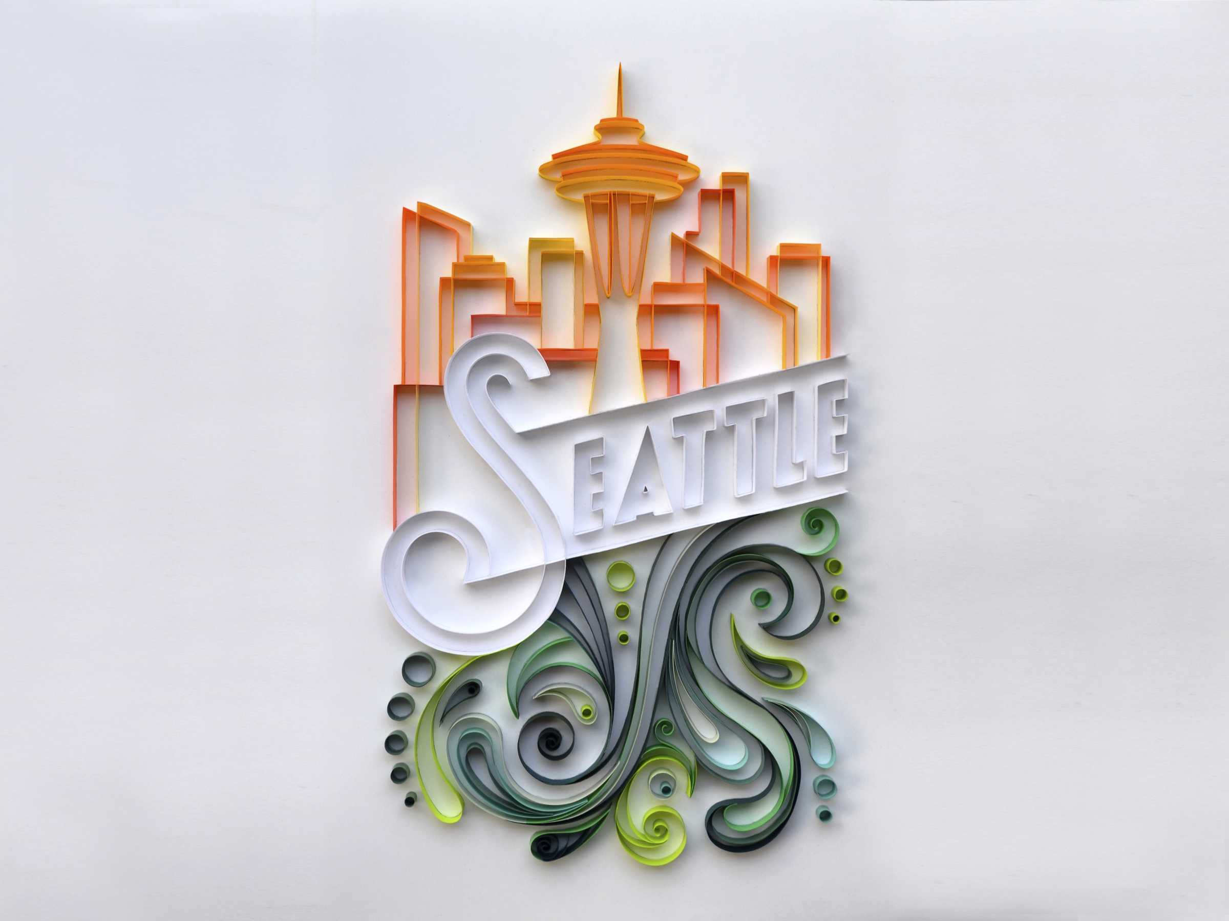 Seattle Quilling