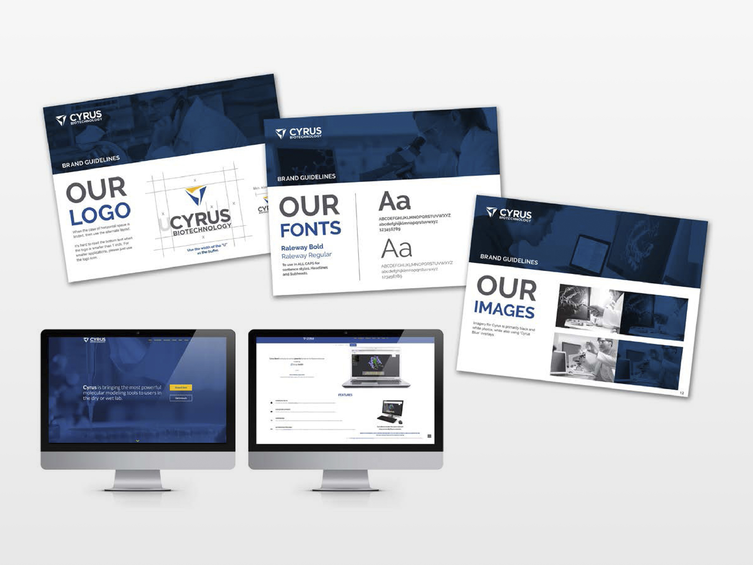 Cyrus Bio Brand Guideline and Website
