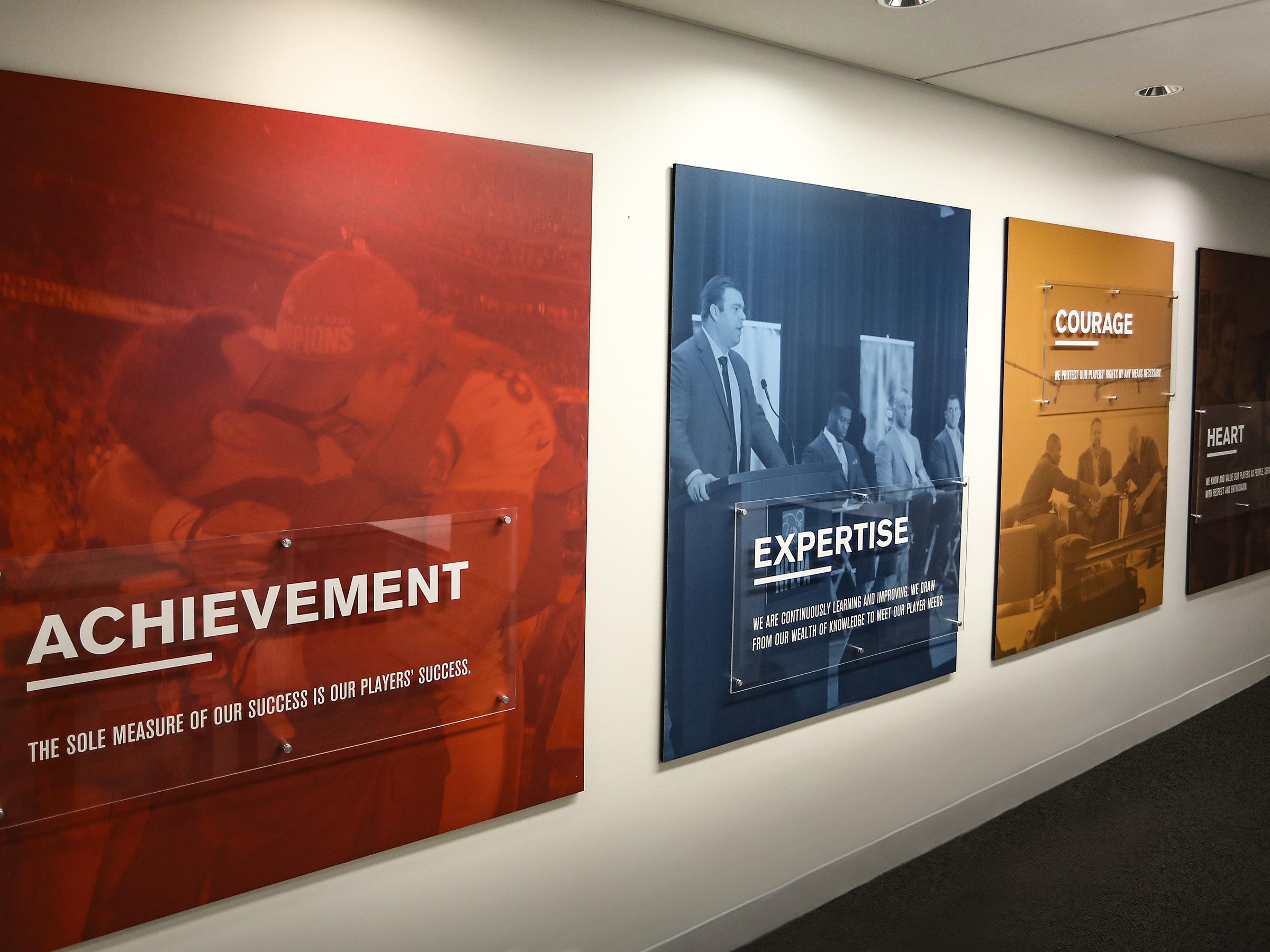 Vision & Values Wall Graphics