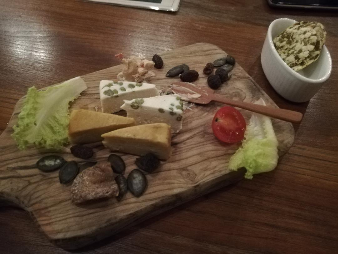 Vegan fermented cheese board, CHOICE, Kyoto