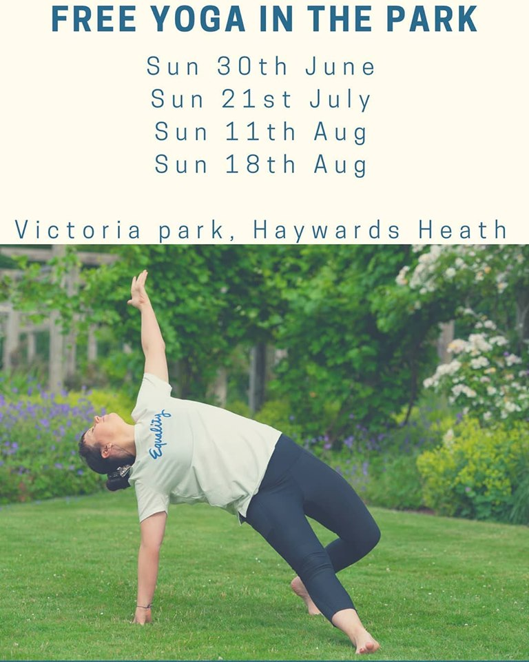 Timetable Summer 2019  - Classes in the park will be weather dependant, please check the forecast each week and ensure you check in on the event on Facebook for updates https://www.facebook.com/clareahimsayoga/Classes are suitable for beginners and progresseors of 16 years and over.  Classes are not suitable for those who are pregnant or have had recent surgery. If you choose to bring Children with you, you do so at your own risk and supervison and are kindly asked to respect other participants. If you you are unsure as to whether not you should attend a class, please feel free to contact me to discuss at ahimsayoga_wellness@outlook.com or send a private message via facebook