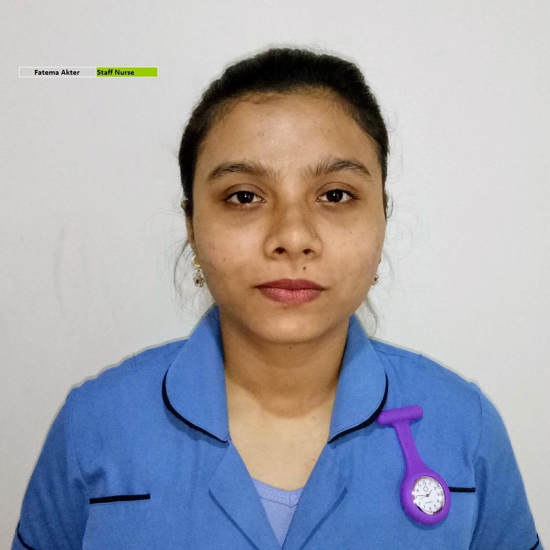 Fatema Aktar - Staff Nurse