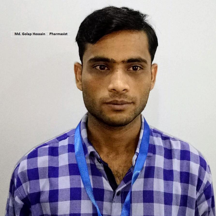 Golap Hossain - Pharmacist