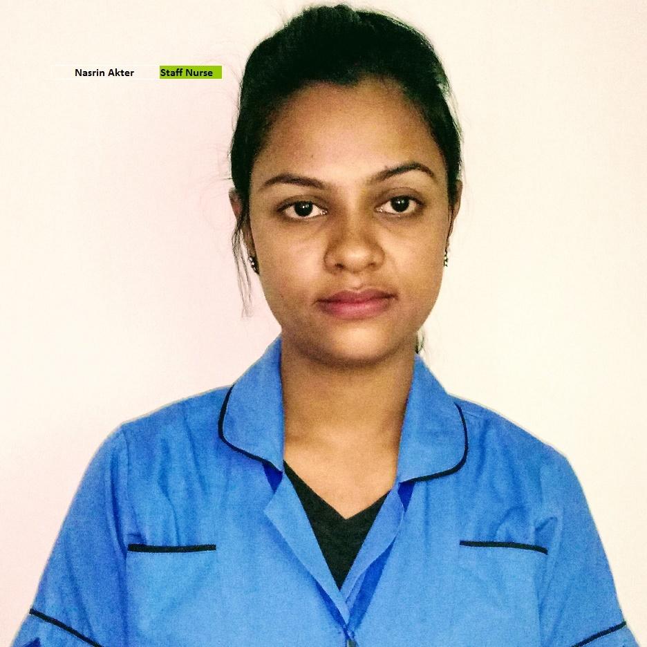 Nasrin Akter - Staff Nurse