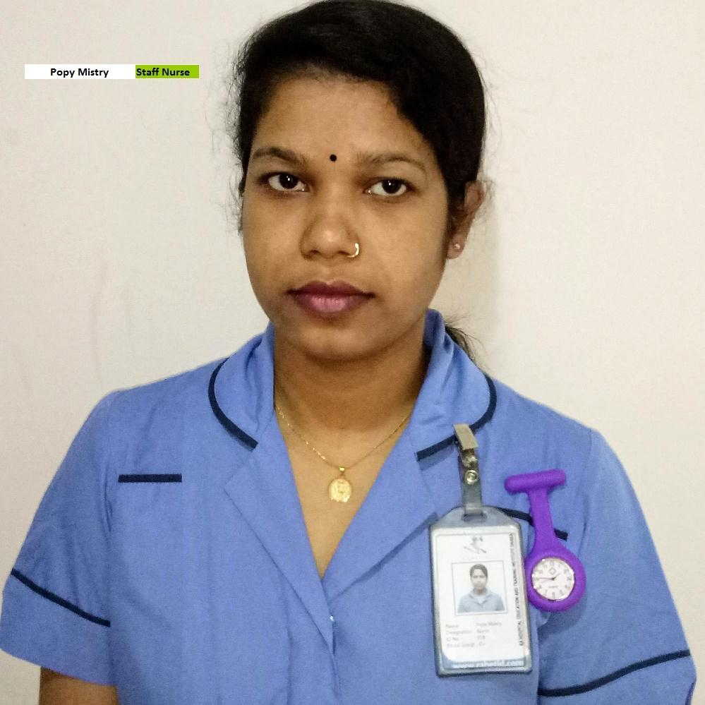 Popy Mistry - Staff Nurse