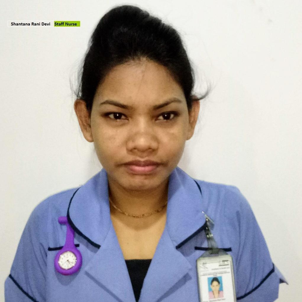 Shantana Rani Devi - Staff Nurse